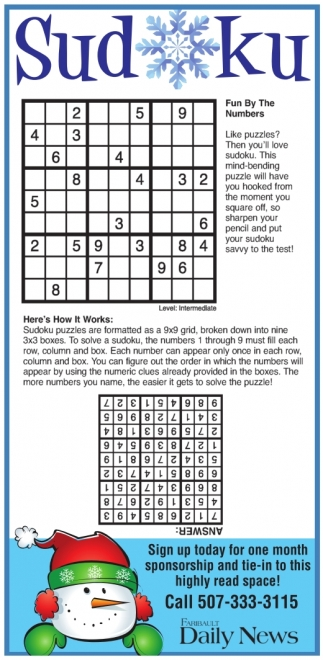 Sudoku: Fun by the Numbers