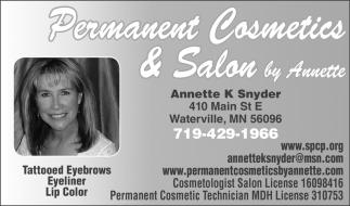 Annette K Snyder