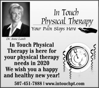 We are here for your Physical Therapy Needs in 2020