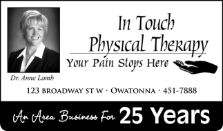 An Area Business for 25 Years