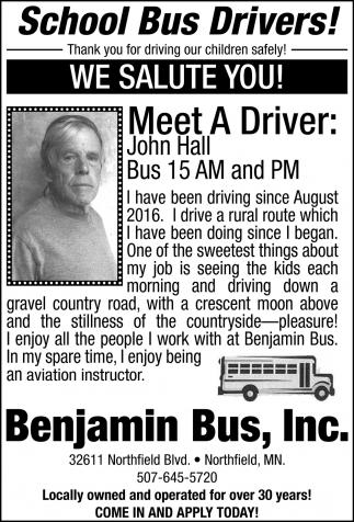 Meet The Drivers: John Hall