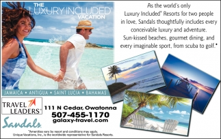 The Luxury Included Vacation