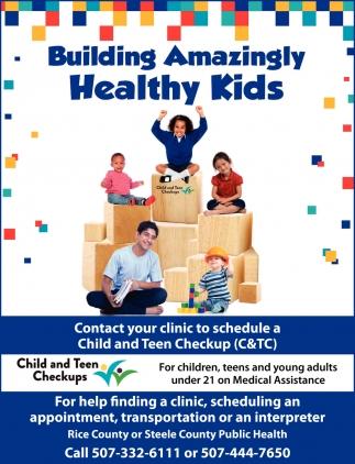 Building Amazing Healthy Kids