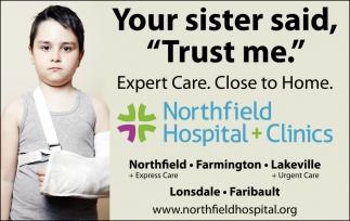 Expert Care. Close to Home