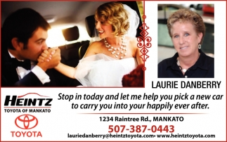 Stop in today and let me help you pick a new car to carry you into your happily ever after