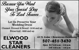 Because You Want Your Special Day To Last Forever...