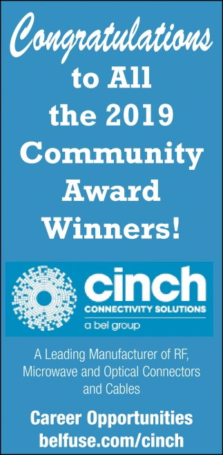 Congratulations to All the 2019 Community Award Winners!