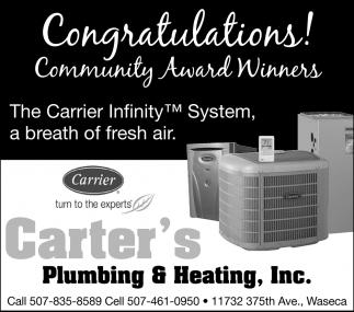 Congratulations! Community Award Winners