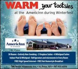 Warm your tootsies