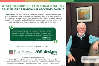 A partnership Built On Shared Values