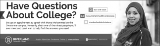 Have Questions About College?