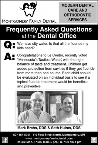Frequently Asked Questions at the Dental Office