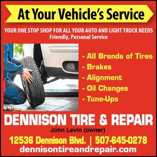 At your Vehicle's Service