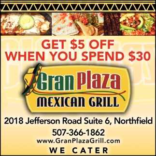 Get $5 Off When You Spend $30