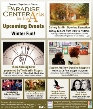 Upcoming Events - Winter Fun!