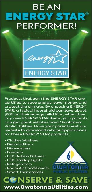 Be An Energy Star Performer!