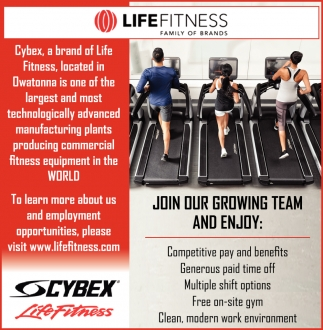 One of the largest and most technologically advanced manufacturing plants producing commercial fitness equipment in the World