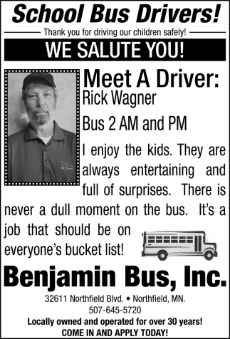 Meet The Drivers: Rick Wagner