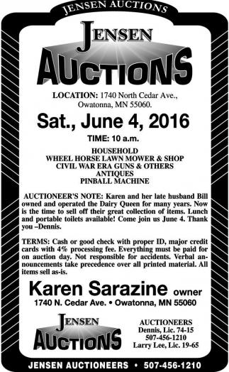 Sat., June 4, 2016