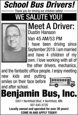 Meet the Driver: Dustin Hanson