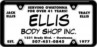 Serving Owatonna for Over 41 Years!