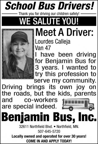 Meet A Driver