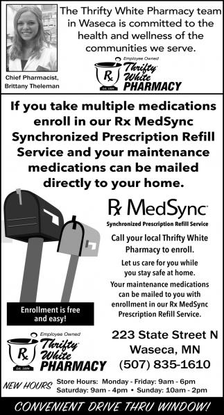 Synchronized Prescription Refill