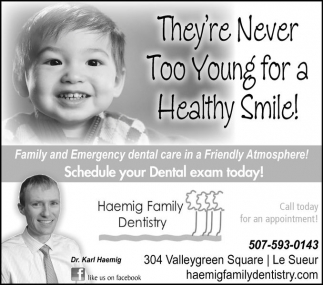 Call today for an appointment!