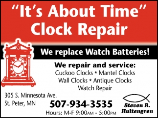 We  Replace Watch Batteries