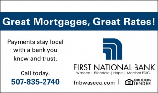 Great Mortgages, Great Rates!
