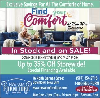 Exclusive Savings New Ulm Furniture, New Ulm Furniture