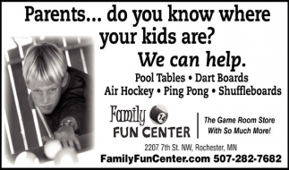 Parents... do you know where your kids are? We can help