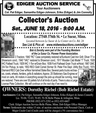 Collector's Auction