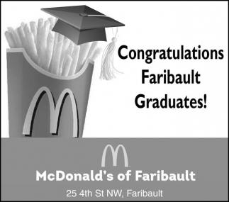 Congratulations Faribault Graduates!