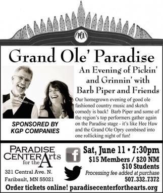 Grand Ole' Paradise