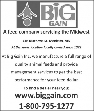 Quality animal feeds