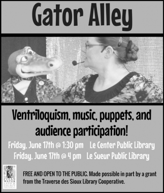 Ventriloquism, music, puppets, and audience participation!