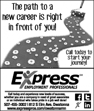 The path to a new career is right in front of you!