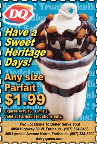 Have a Sweet Heritage Days!
