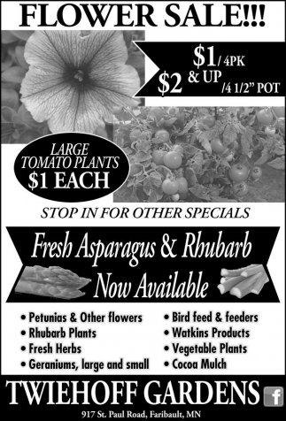 BUY 2, GET 1 FLOWER SALE!!!