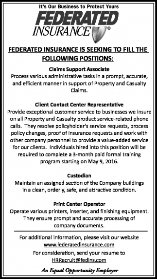 It's Our Business to Protect Yours