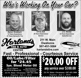 Who's Working On Your Car?