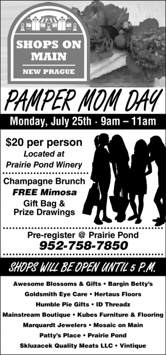 PAMPER MOM DAY