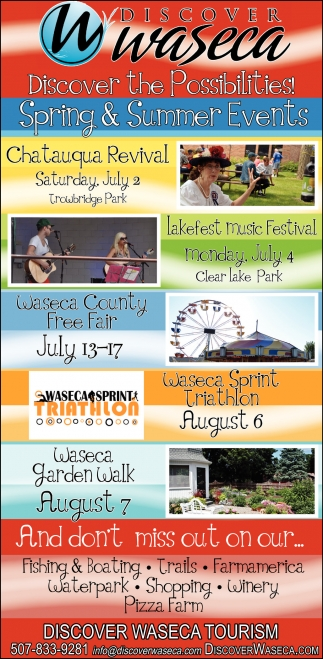Spring and Summer Events