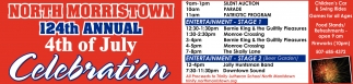 NORTH MORRISTOWN 124th ANNUAL 4th of July Celebration