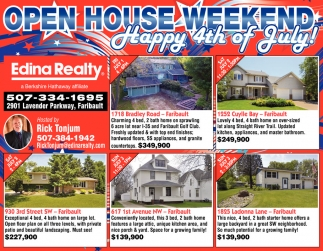 OPEN HOUSE WEEKEND