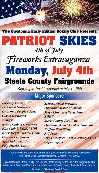Monday, July 4th