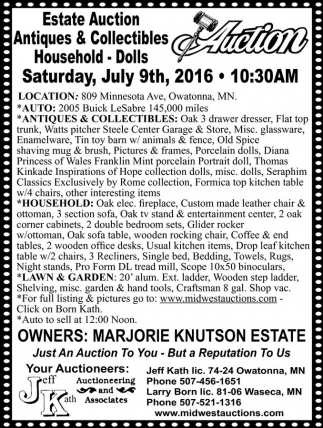 Saturday, July 9th, 2016