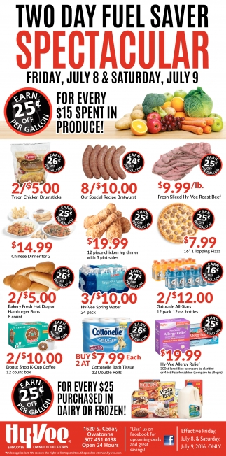 TWO DAY FUEL SAVER SPECTACULAR