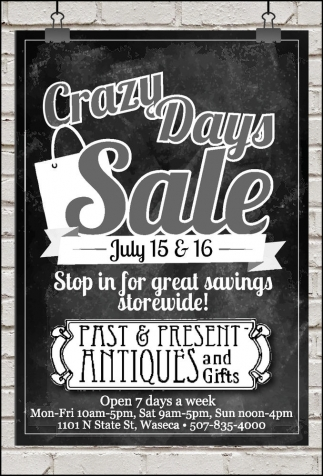 Crazy Days Sale